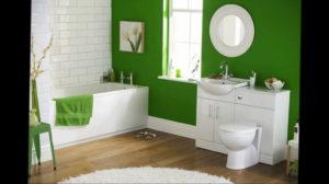 интерьеры зеленой ванны 06.10.2019 №031 -green in the interior- design-foto.ru