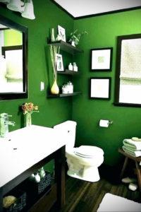 интерьеры зеленой ванны 06.10.2019 №032 -green in the interior- design-foto.ru