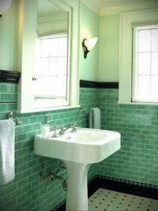 интерьеры зеленой ванны 06.10.2019 №034 -green in the interior- design-foto.ru