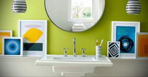 интерьеры зеленой ванны 06.10.2019 №035 -green in the interior- design-foto.ru