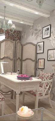 интерьер прованс салон красоты 23.09.2019 №011 -beauty salon interior- design-foto.ru