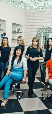 интерьер прованс салон красоты 23.09.2019 №016 -beauty salon interior- design-foto.ru