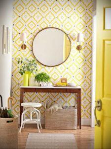 обои желтого цвета в интерьере 09.10.2019 №001 -yellow in interior- design-foto.ru