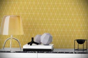 обои желтого цвета в интерьере 09.10.2019 №007 -yellow in interior- design-foto.ru