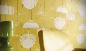 обои желтого цвета в интерьере 09.10.2019 №011 -yellow in interior- design-foto.ru