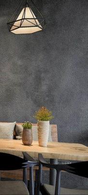 обои серого цвета в интерьере 24.09.2019 №010 -gray interior- design-foto.ru