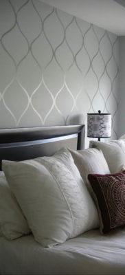 обои серого цвета в интерьере 24.09.2019 №014 -gray interior- design-foto.ru