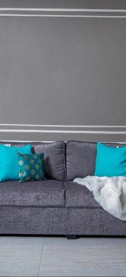обои серого цвета в интерьере 24.09.2019 №023 -gray interior- design-foto.ru