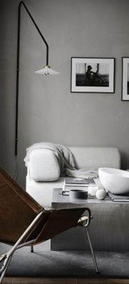пример серого интерьера на фото 24.09.2019 №004 -gray interior- design-foto.ru