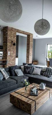 пример серого интерьера на фото 24.09.2019 №010 -gray interior- design-foto.ru