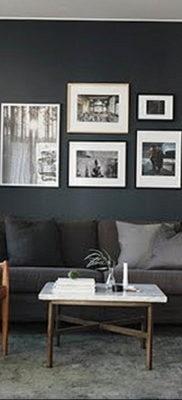 пример серого интерьера на фото 24.09.2019 №017 -gray interior- design-foto.ru