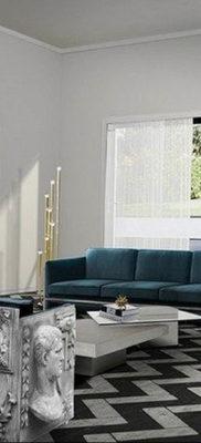 пример серого интерьера на фото 24.09.2019 №039 -gray interior- design-foto.ru