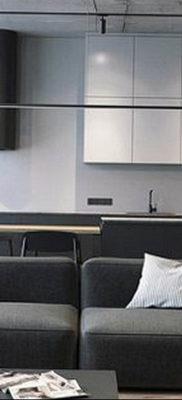 пример серого интерьера на фото 24.09.2019 №052 -gray interior- design-foto.ru