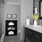 серый цвет в ванной интерьер 24.09.2019 №005 -gray interior- design-foto.ru