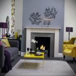 серый цвет в интерьере гостиной 24.09.2019 №004 -gray interior- design-foto.ru