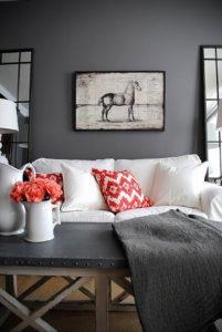 серый цвет в интерьере гостиной 24.09.2019 №012 -gray interior- design-foto.ru