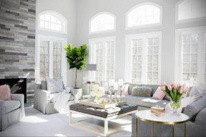 серый цвет в интерьере гостиной 24.09.2019 №013 -gray interior- design-foto.ru