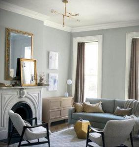серый цвет в интерьере гостиной 24.09.2019 №015 -gray interior- design-foto.ru