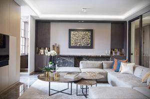 серый цвет в интерьере гостиной 24.09.2019 №019 -gray interior- design-foto.ru