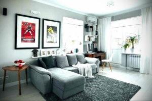 серый цвет в интерьере гостиной 24.09.2019 №023 -gray interior- design-foto.ru