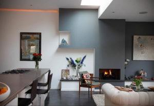серый цвет в интерьере гостиной 24.09.2019 №025 -gray interior- design-foto.ru