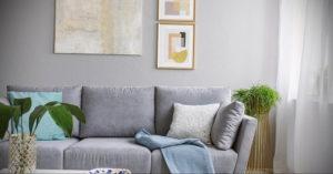 серый цвет в интерьере гостиной 24.09.2019 №026 -gray interior- design-foto.ru