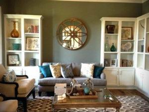 серый цвет в интерьере гостиной 24.09.2019 №027 -gray interior- design-foto.ru