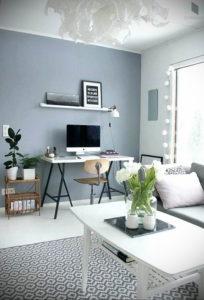 серый цвет в интерьере гостиной 24.09.2019 №030 -gray interior- design-foto.ru