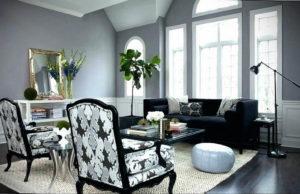 серый цвет в интерьере гостиной 24.09.2019 №034 -gray interior- design-foto.ru
