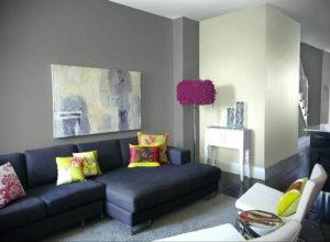 серый цвет в интерьере гостиной 24.09.2019 №041 -gray interior- design-foto.ru