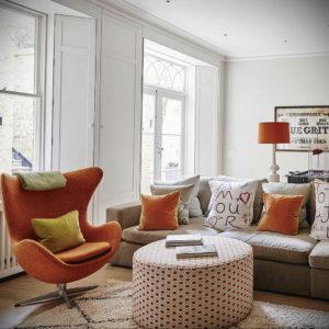 серый цвет в интерьере гостиной 24.09.2019 №047 -gray interior- design-foto.ru