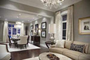 серый цвет в интерьере гостиной 24.09.2019 №053 -gray interior- design-foto.ru