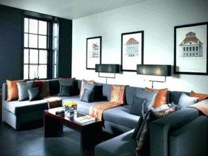 серый цвет в интерьере гостиной 24.09.2019 №057 -gray interior- design-foto.ru