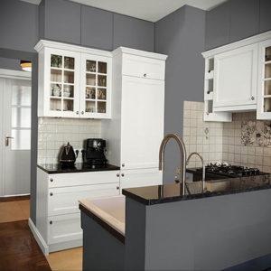 серый цвет в интерьере кухни 24.09.2019 №008 -gray interior- design-foto.ru