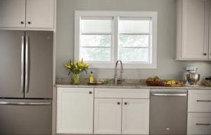 серый цвет в интерьере кухни 24.09.2019 №010 -gray interior- design-foto.ru