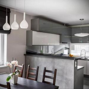 серый цвет в интерьере кухни 24.09.2019 №013 -gray interior- design-foto.ru