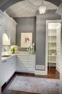 серый цвет в интерьере кухни 24.09.2019 №014 -gray interior- design-foto.ru