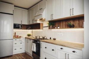 серый цвет в интерьере кухни 24.09.2019 №020 -gray interior- design-foto.ru