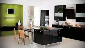 сочетание зеленого в интерьере 06.10.2019 №006 -green in the interior- design-foto.ru