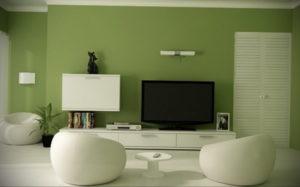 сочетание зеленого в интерьере 06.10.2019 №007 -green in the interior- design-foto.ru