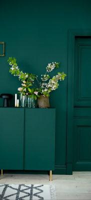 сочетание зеленого в интерьере 06.10.2019 №009 -green in the interior- design-foto.ru