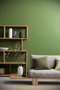 сочетание зеленого в интерьере 06.10.2019 №012 -green in the interior- design-foto.ru