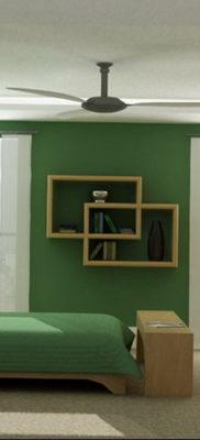 сочетание зеленого в интерьере 06.10.2019 №017 -green in the interior- design-foto.ru