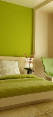 сочетание зеленого в интерьере 06.10.2019 №023 -green in the interior- design-foto.ru
