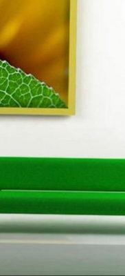 сочетание зеленого в интерьере 06.10.2019 №024 -green in the interior- design-foto.ru