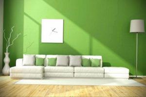 сочетание зеленого в интерьере 06.10.2019 №025 -green in the interior- design-foto.ru
