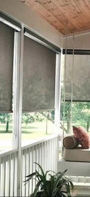 тканевые жалюзи в интерьере 19.09.2019 №035 — blinds zebra in the interior — design-foto.ru