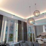 фото Свет в интерьере гостиной 22.01.2019 №288 - Light in the interior - design-foto.ru
