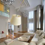 фото Свет в интерьере гостиной 22.01.2019 №313 - Light in the interior - design-foto.ru