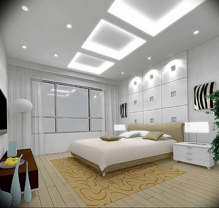 фото Свет в интерьере спальни от 11.05.2018 №005 - Light in the interior - design-foto.ru